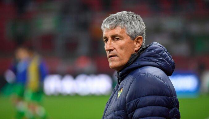Spānijas čempionāta līdere 'Barcelona' atlaidusi galveno treneri