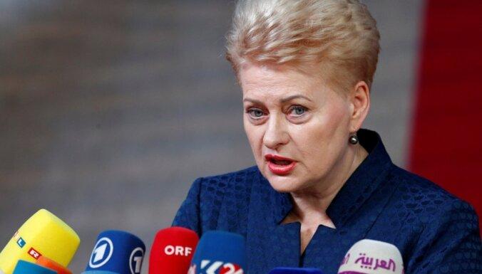 Грибаускайте: выборы продемонстрировали зрелость литовского общества