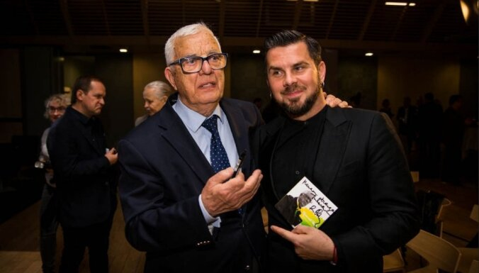 ФОТО: Раймонд Паулс представил публике новый альбом