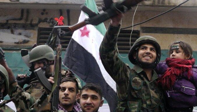 Sīrijas valdība Hulas slaktiņā vaino nemierniekus