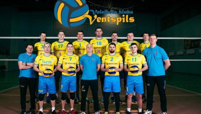 VK 'Ventspils' uzvar Nacionālās volejbola līgas grandu mačā