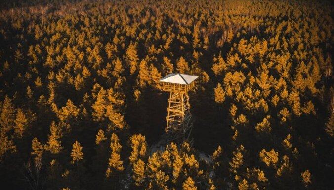 10 skatu torņi Latvijā, no kuriem paveras brīnišķīga aina