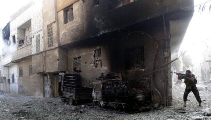 Damaska 'pēdējās cīņas' gaidās