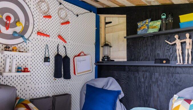 ФОТО. Необычное перевоплощение: дизайнер обустроила домик на дереве