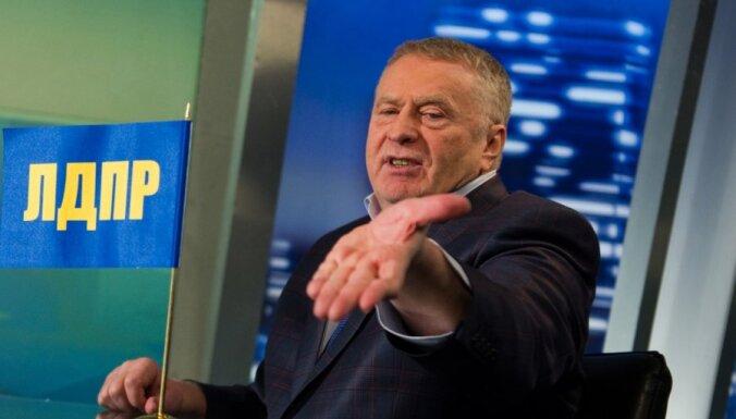 Жириновский опроверг, что предлагал включить Беларусь в состав России