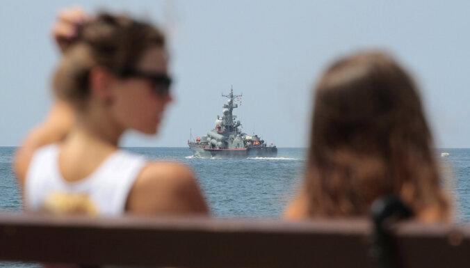 Украина пожаловалась в ООН на морской парад в Крыму