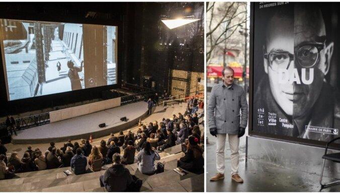 Foto: Parīzē noslēdzas vērienīgs 24/7 'padomju Trūmena šovs'