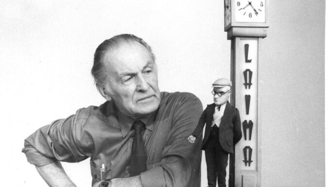 'Leļļu karaļa' Arnolda Burova 100. jubilejas pasākumā rādīs viņa leļļu animācijas filmas