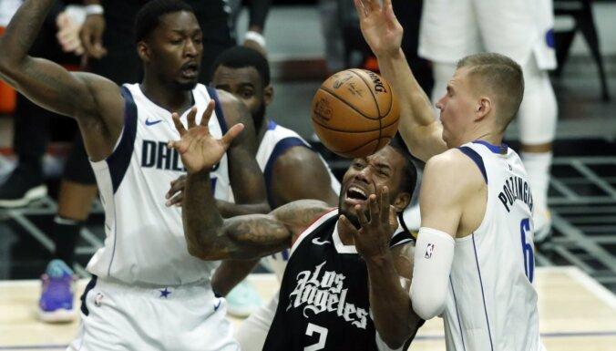 Porziņģis par savu lomu sērijā pret 'Clippers': man tas nebija komfortablākais variants
