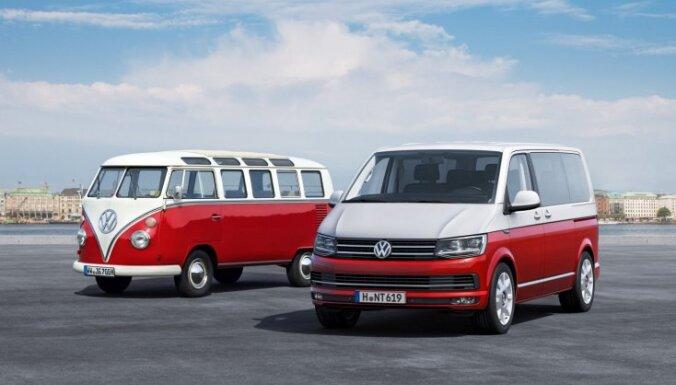 'Volkswagen' prezentējis jauno 'Transporter' paaudzi