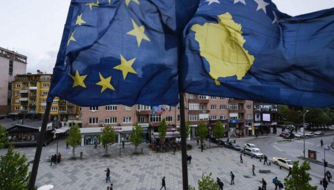 ES potenciālo Serbijas-Kosovas teritoriju apmaiņu vērtē skeptiski
