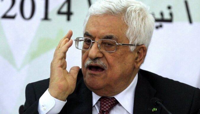 Palestīnas prezidents atzīst holokaustu par mūsdienu vēstures briesmīgāko noziegumu