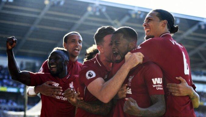'Liverpool' atgriežas premjerlīgas līderpozīcijā