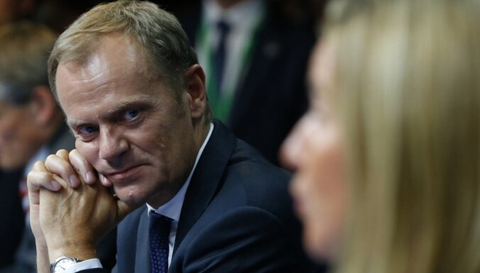 Eiropadomes prezidents: imigrantu kvotu jautājumā 'nav konsensa'