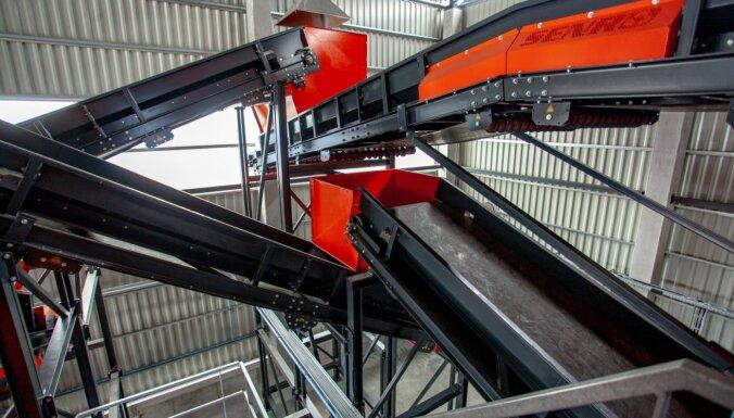 'Getliņi EKO' nodod ekspluatācijā bioloģiski noārdāmo atkritumu pārstrādes kompleksu