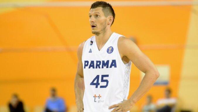 Blūma pārstāvētā 'Parma' VTB Vienotās līgas mačā piekāpjas Maskavas CSKA