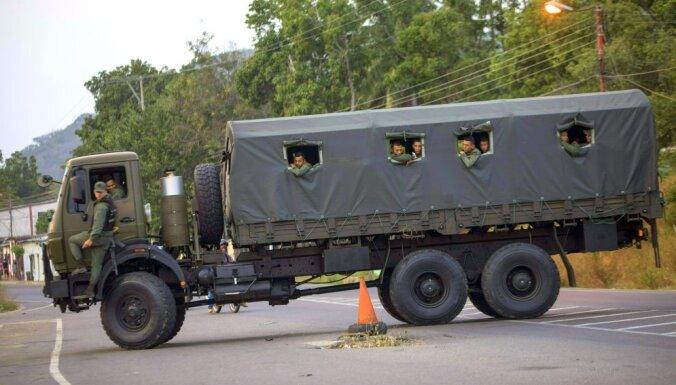 Венесуэла закрыла участок границы с Колумбией, через которую ждали помощь из США
