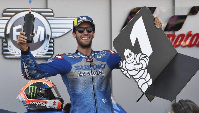Rins uzvar Aragonas 'Grand Prix'; kopvērtējumā līderpozīciju pārņem Mirs