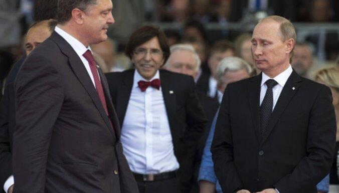 Кремль: Путин и Порошенко не договорились о прекращении огня