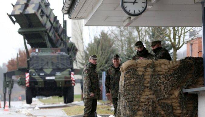 Vācija ir gatava nosūtīt uz Turcijas pierobežu ar Sīriju līdz 400 karavīru