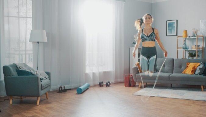 Ieteikumi vienkāršiem, bet efektīviem kardio treniņiem mājas apstākļos