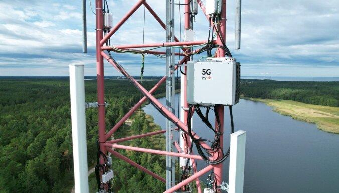 LMT установит в Латвии сто базовых станций 5G