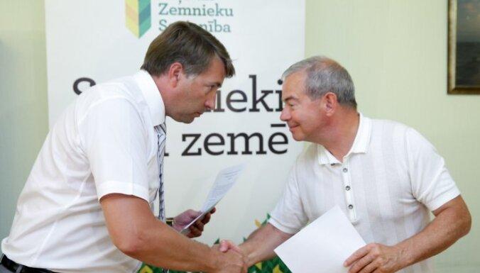 ZZS ar partiju 'Latvijai un Ventspilij' paraksta vienošanos par sadarbību