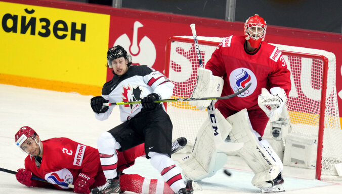 Канада в овертайме одолела россиян в четвертьфинале чемпионата мира