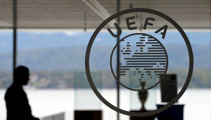 Pērn par manipulācijām ar UEFA spēļu rezultātiem aizturēti divi Latvijas valsts piederīgie