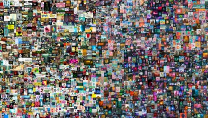 На аукционе продали цифровую картину за 69 миллионов долларов
