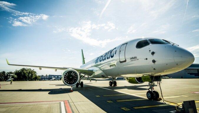 'airBaltic' peļņa 2018. gadā pieaugusi par 46%