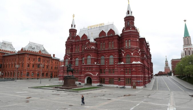 Covid-19: Krievijā inficēto skaits pieaudzis par vairāk nekā 10 000