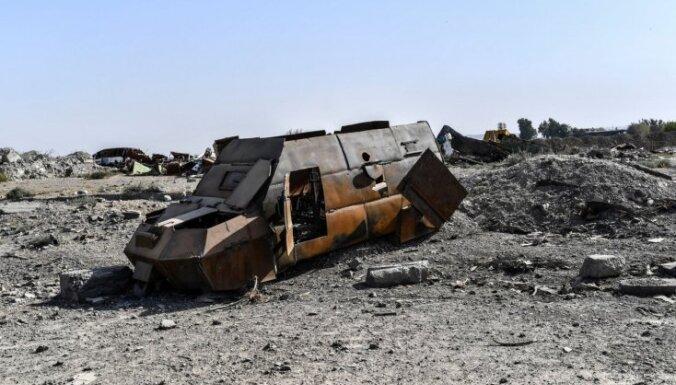 Kurdu un arābu alianse atkarojusi 'Daesh' Sīrijas lielāko naftas lauku
