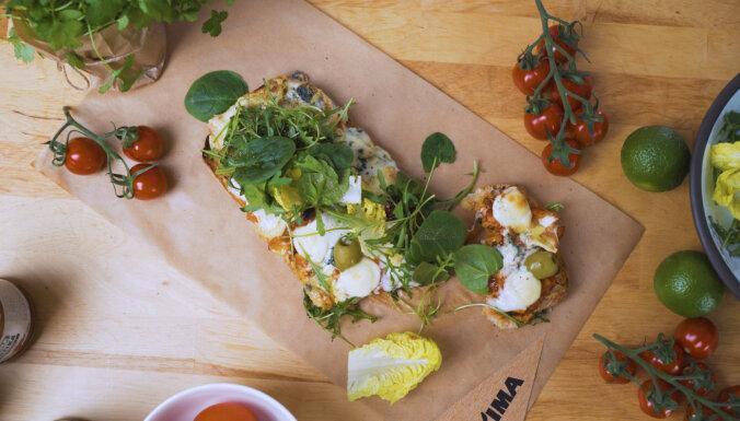 Рецепт от шеф-повара для завтрака во время поста — чиабатта с четырьмя сырами и вялеными помидорами