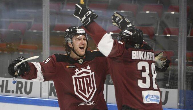 Aizraujošs 'Dinamo' derbijs noslēdzas ar Rīgas uzvaru pār Maskavu