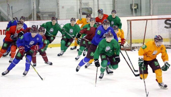 Сборная Латвии по хоккею начала подготовку к чемпионату мира