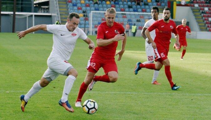 Pēc 'Ventspils' neizšķirta pret 'Spartaks' futbolistiem 'Riga' vēl vairāk pietuvojas čempiontitulam