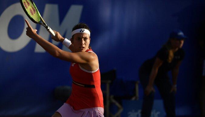 ФОТО, ВИДЕО. Севастова вышла в четвертьфинал Baltic Open в Юрмале