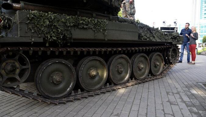NBS saņem visas 2014. gadā parakstītajā līgumā paredzētās kāpurķēžu kaujas mašīnas