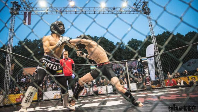 В Риге пройдет первый этап бойцовского турнира Ghetto Fight