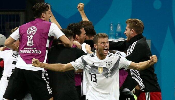 Сборная Германии извинилась перед шведами за некорректное поведение после победы