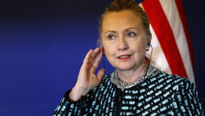 Klintone ANO Drošības padomes balsojumu par Sīrijas rezolūciju nosauc par farsu