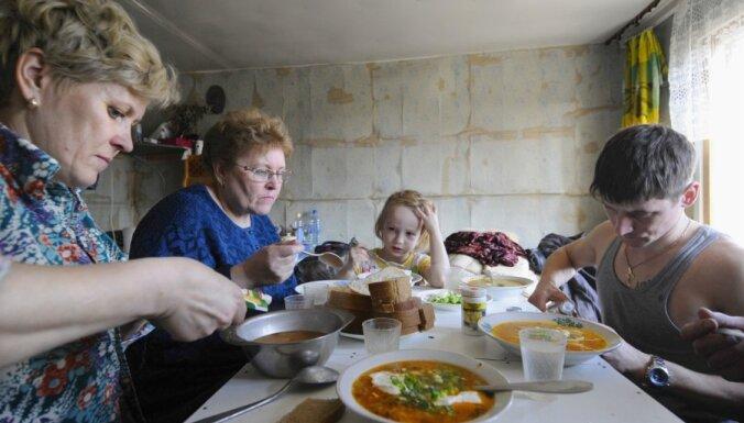 Все больше семей экономят на продовольствии