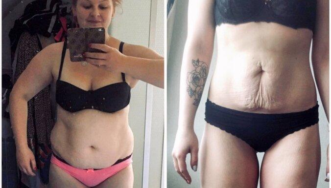 Konkursa stāsts: 'Pusgada laikā atbrīvojos no 31 kilograma'