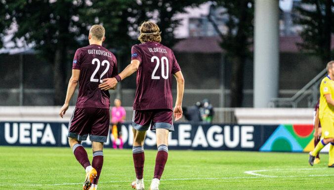 Latvijas futbolisti pārbaudes spēlē izbraukumā tiekas ar Melnkalni