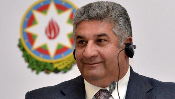Azerbaijan Sports Minister Azad Ragimov