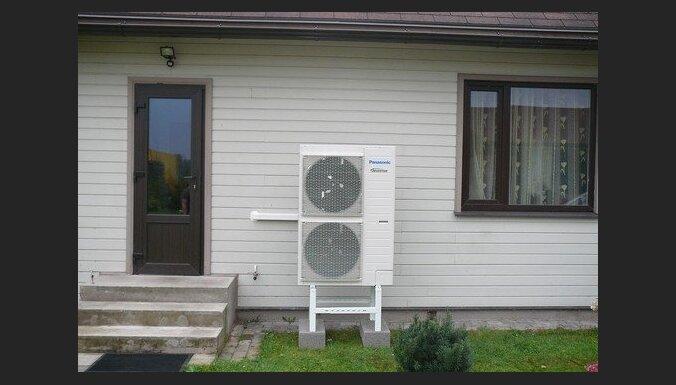 Apkure. Panasonic gaisa siltumsūkņi. Praktiska ekspluatācija 2013./2014. ziemas sezonā