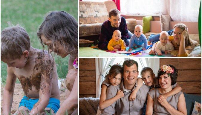 Adopcijas, pārcelšanās un neizsakāmi laimes brīži: stāsti par spēcīgām Latvijas ģimenēm