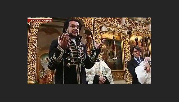 Как Киркоров крестил свою дочь Аллу-Викторию