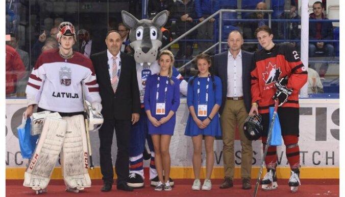 Latvija U-18 - Kanada U-18